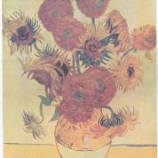 آیا میدانید گلهای آفتابگردان  اثر معروف کدام نقاش است؟