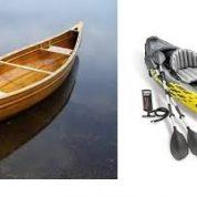 آیا میدانید قایق کایاک چه تفاوتی با قایق کانو دارد؟