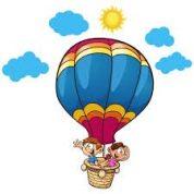 آیا میدانید چرا بالن ها در هوا شناور می شوند؟