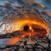 آیا میدانید غار یخی را کجا می توان یافت؟