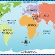 آیا میدانید قاره ها در کجا به یکدیگر متصل می شوند؟
